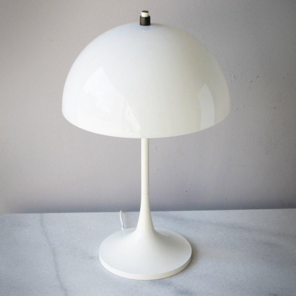 Niederländische Weiße Vintage Tischlampen von Hala, 2er Set