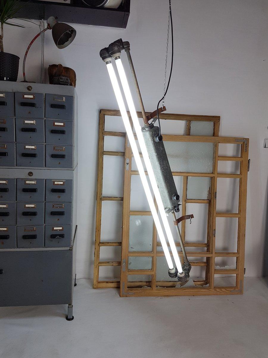 Industrielle Röhrenlampe, 1973