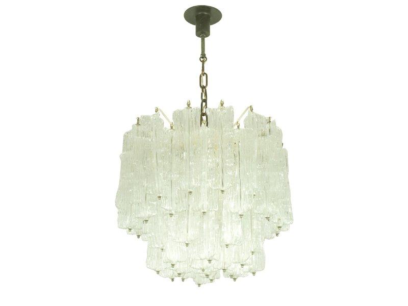Plafoniere Vetro Di Murano Prezzi : Lampadario in vetro di murano toni zuccheri per venini anni 60