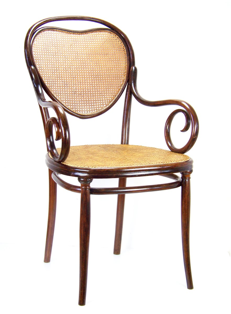 fauteuil viennois nr 3 de thonet 1860s en vente sur pamono. Black Bedroom Furniture Sets. Home Design Ideas