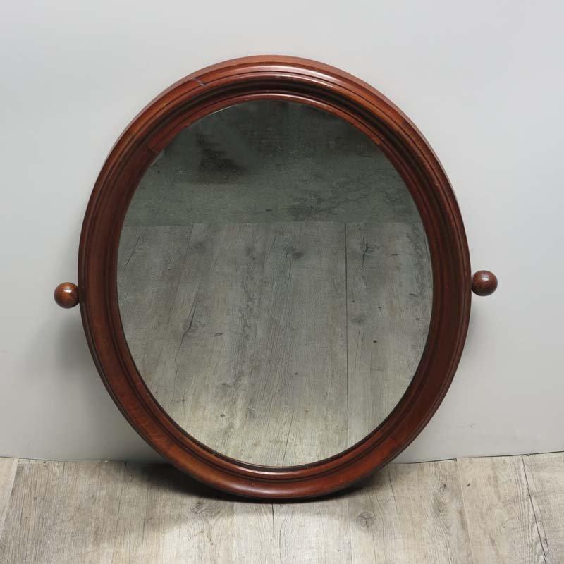Vintage Jugendstil Spiegel mit Holzrahmen bei Pamono kaufen