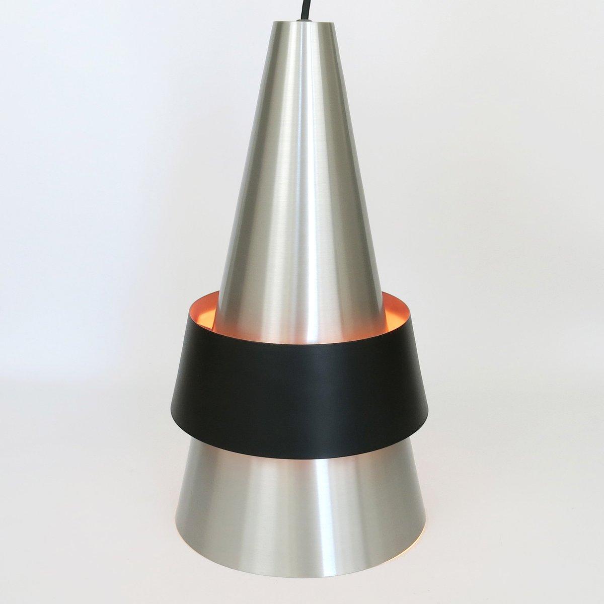 Dänische Mid-Century Corona Deckenlampe von Jo Hammerborg für Fog & Mø...