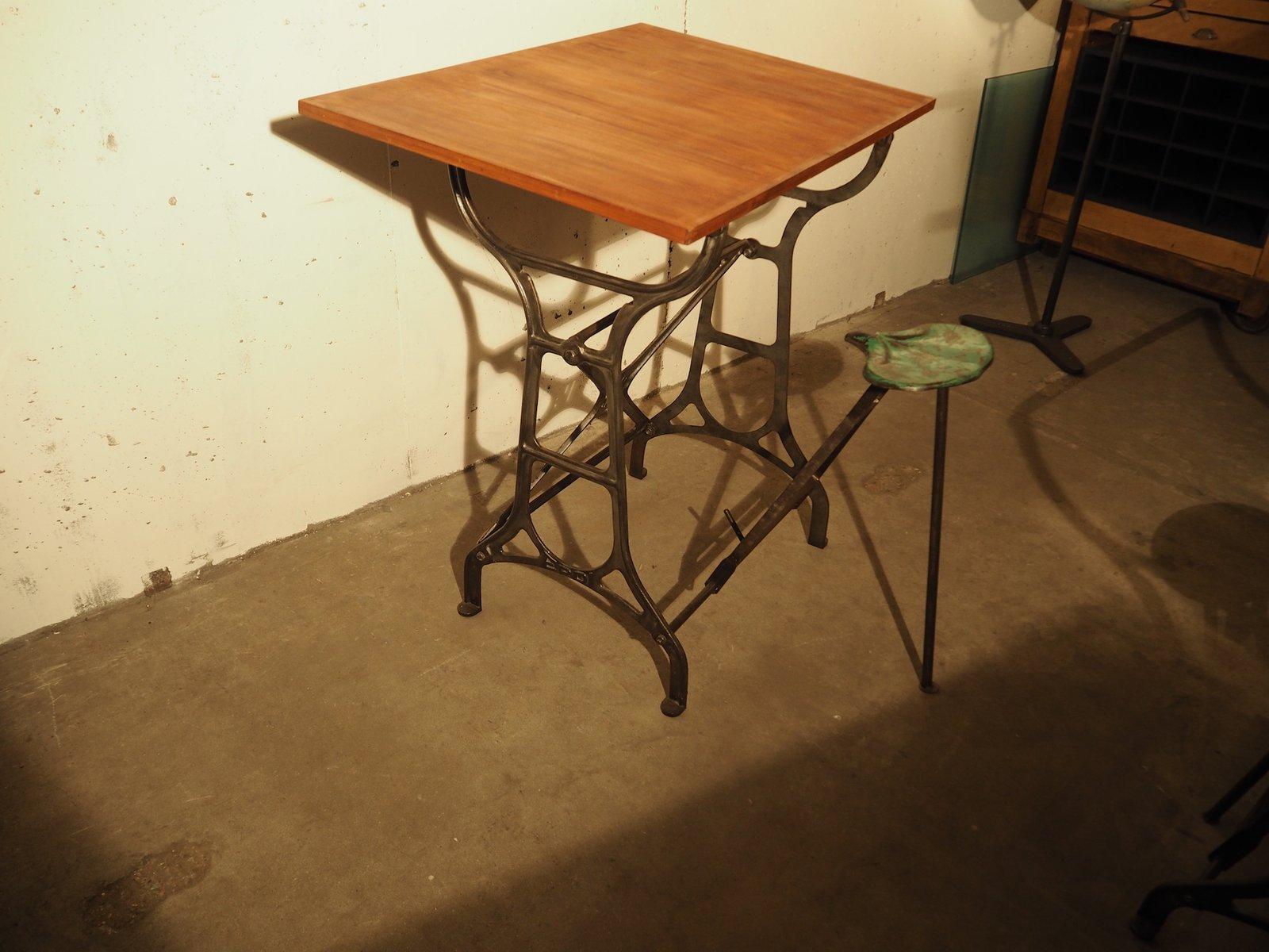 Table A Dessin Industriel table de dessin industrielle de epdi, 1940s en vente sur pamono