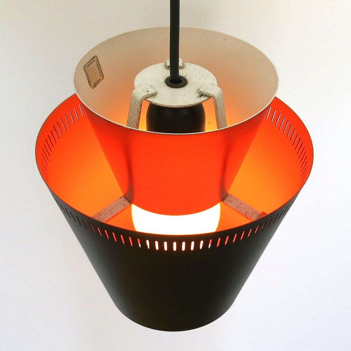 d nische mid century matador lampe von jo hammerborg f r fog m rup 1960er bei pamono kaufen. Black Bedroom Furniture Sets. Home Design Ideas