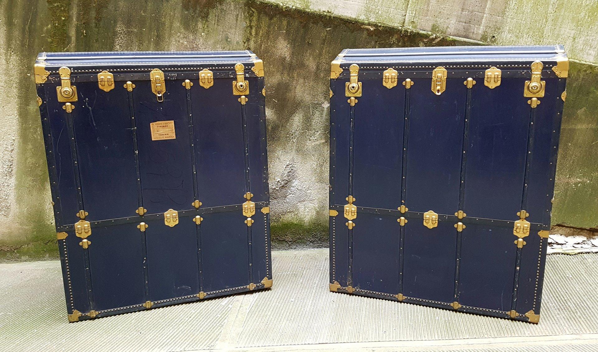 Italienischer Theater Vintage Koffer