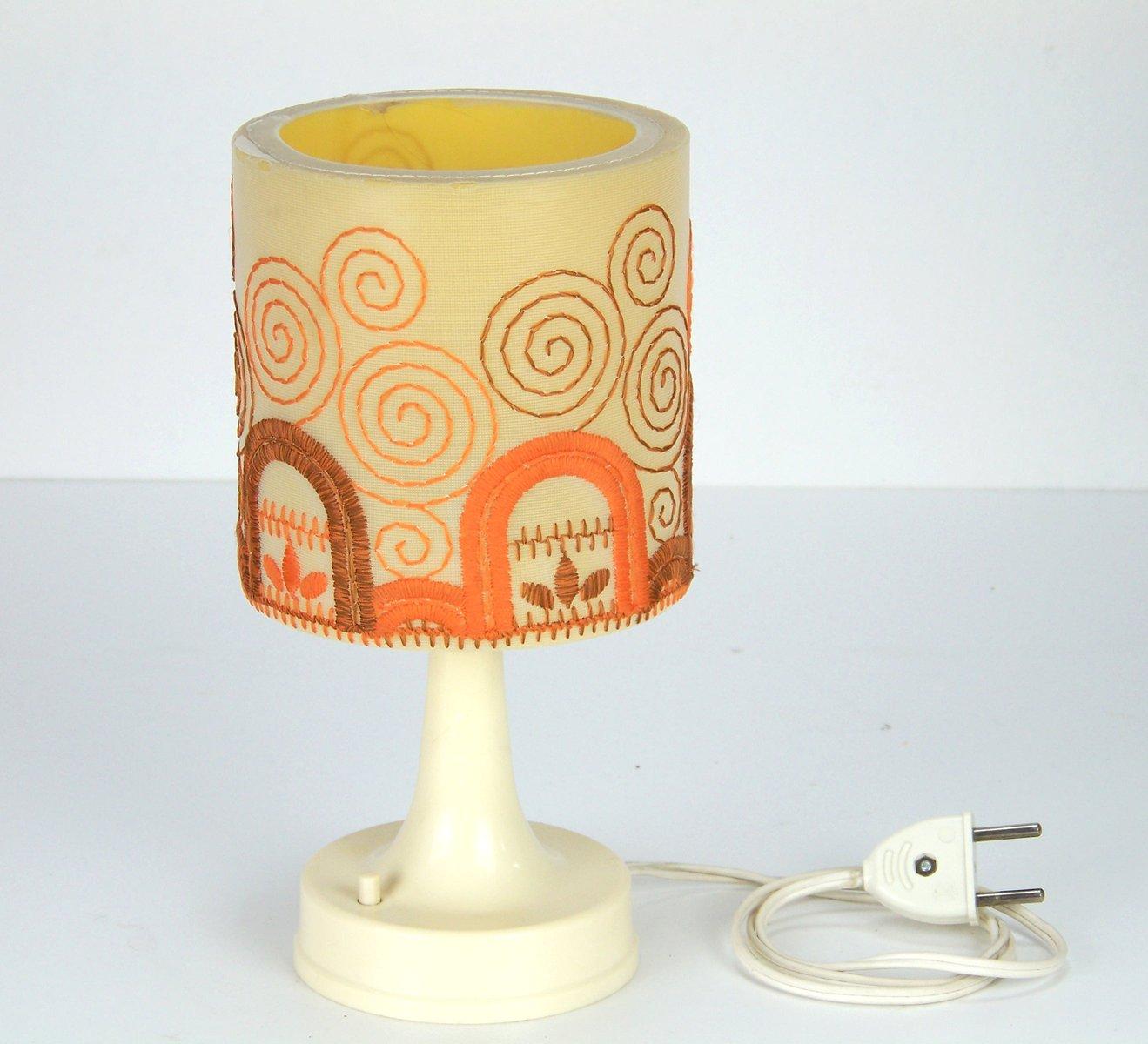 Tschechische Vintage Tischlampe, 1970er