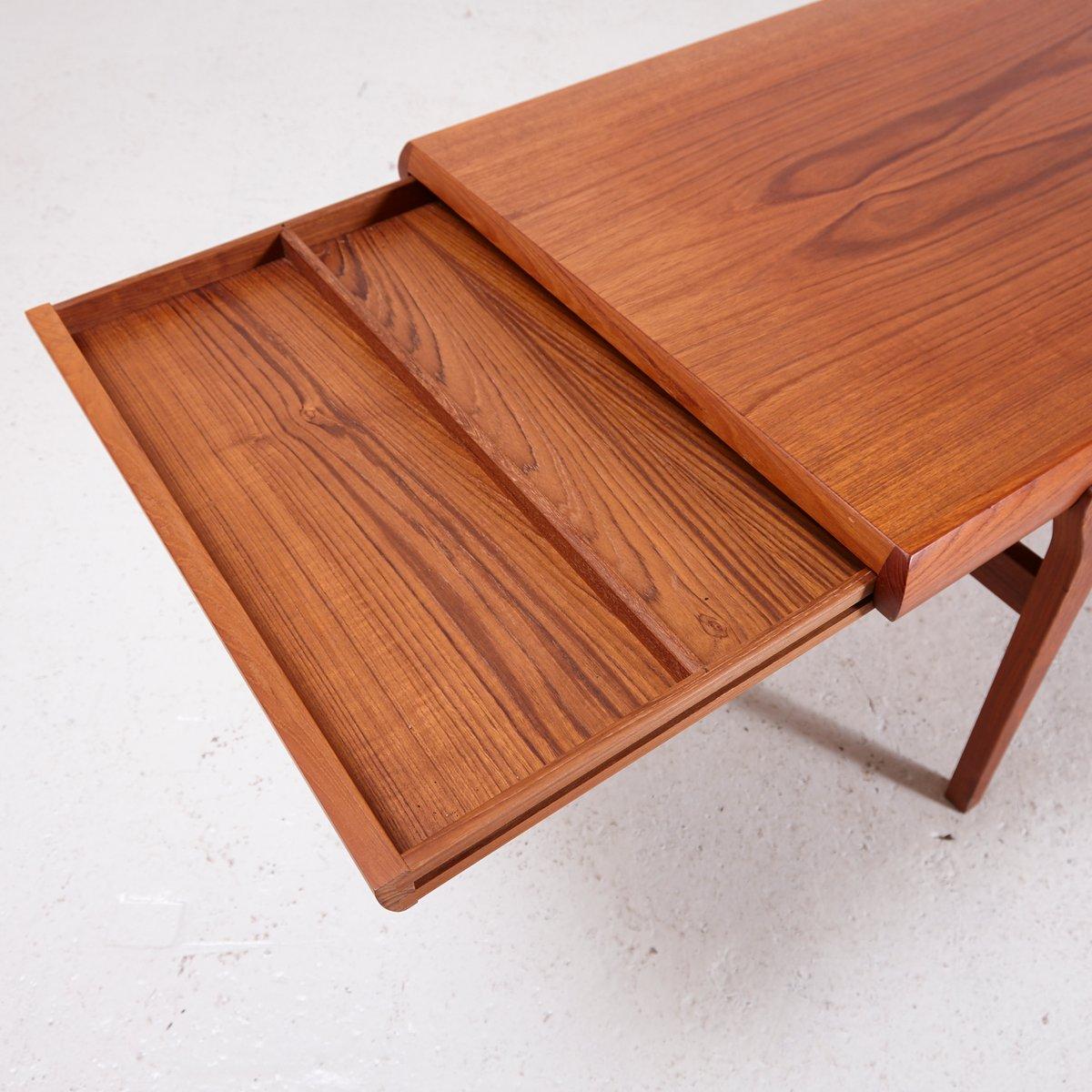 Teak Coffee Table by Johannes Andersen for CFC Silkeborg ...