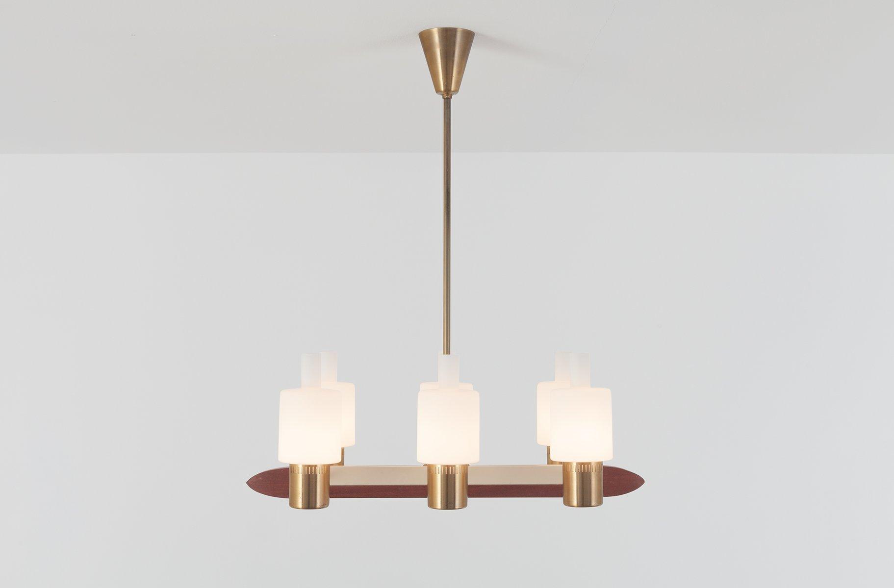 Mid-Century Nordlys Lampe von Jo Hammerborg für Fog & Mørup