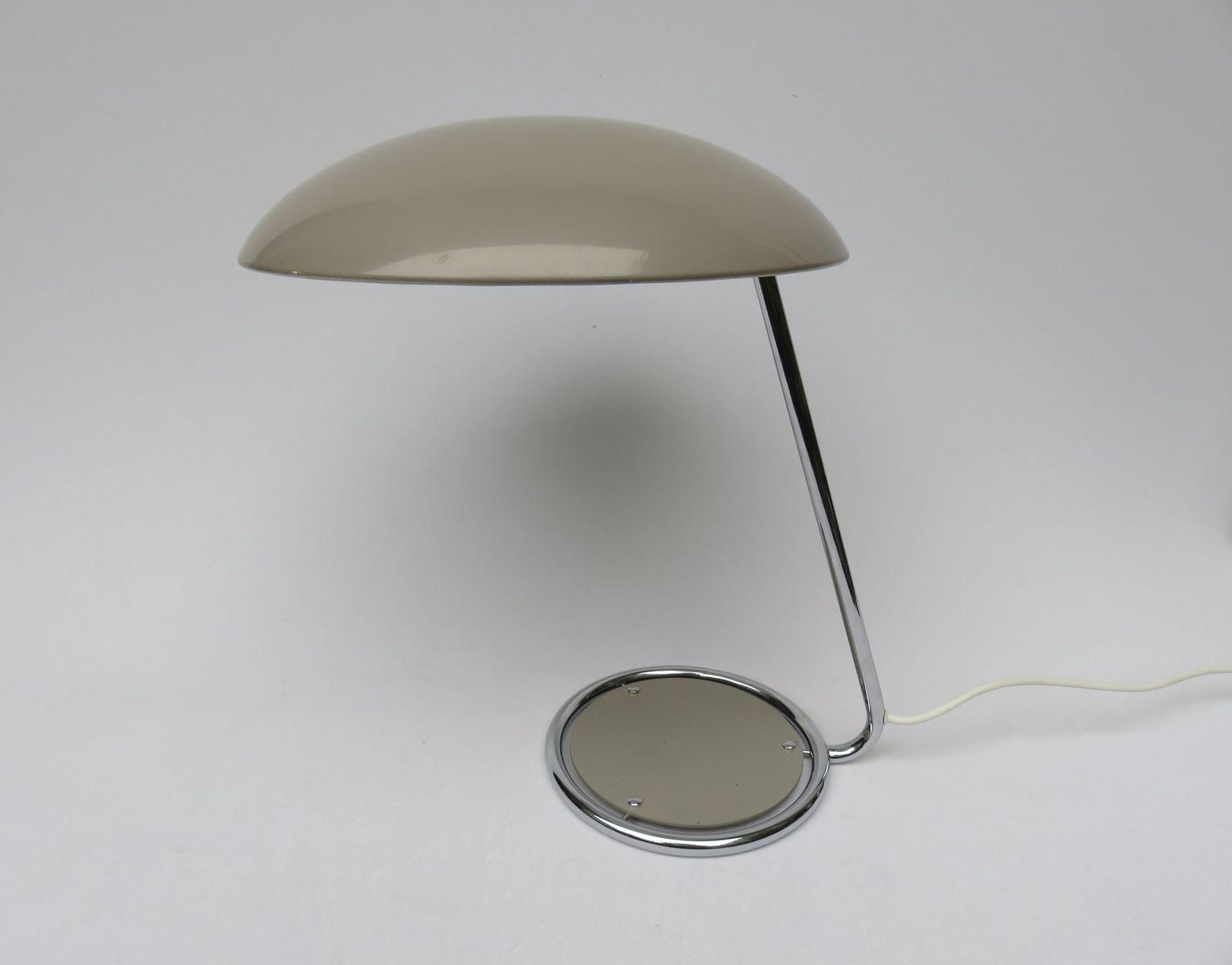 Tischlampe in Altrosa von Kaiser Leuchten, 1960er