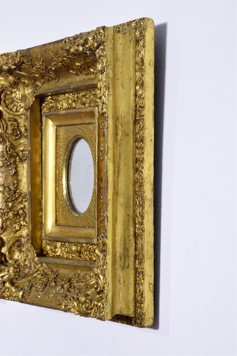 antike vergoldete spiegel 3er set bei pamono kaufen. Black Bedroom Furniture Sets. Home Design Ideas