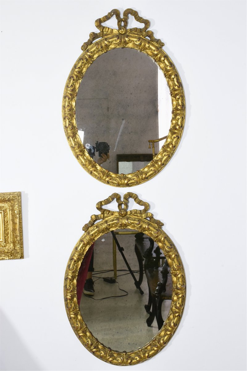 Specchi antichi a forma di fiocco set di 2 in vendita su pamono - Ebay specchi antichi ...