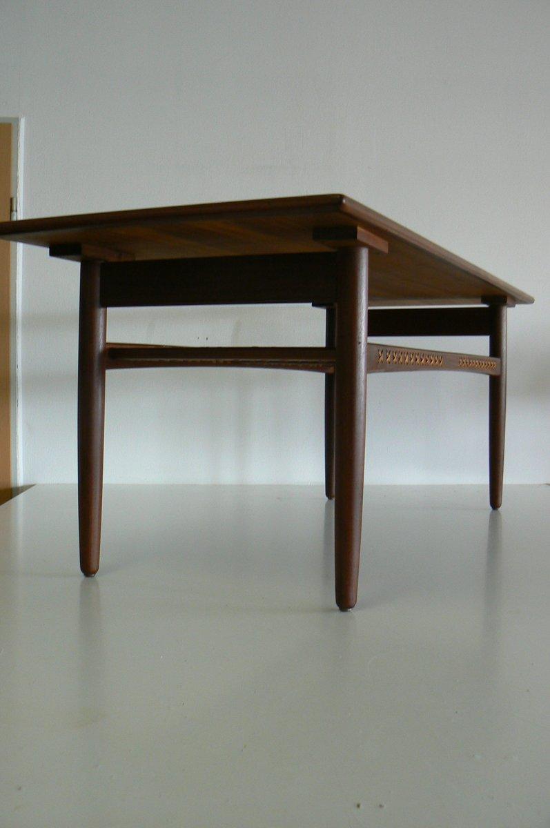 Table Basse Vintage En Teck, Danemark En Vente Sur Pamono
