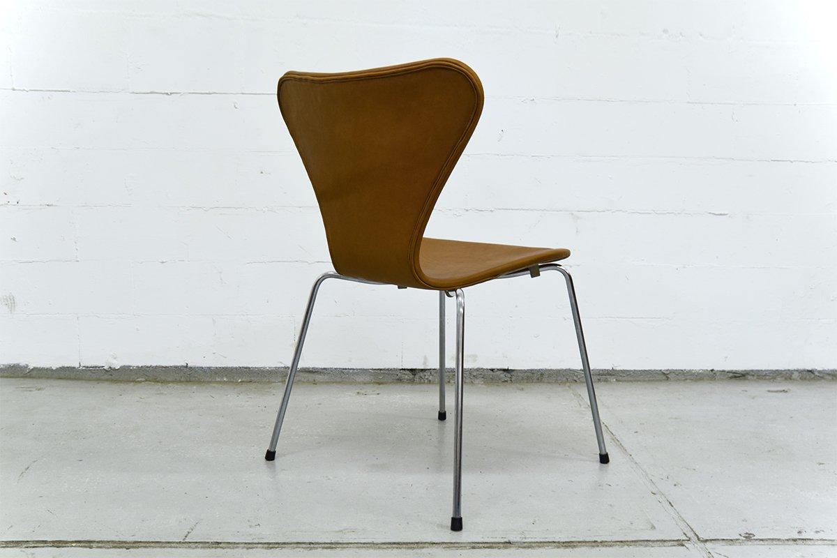 chaise series 7 vintage by arne jacobsen pour fritz hansen en vente sur pamono. Black Bedroom Furniture Sets. Home Design Ideas