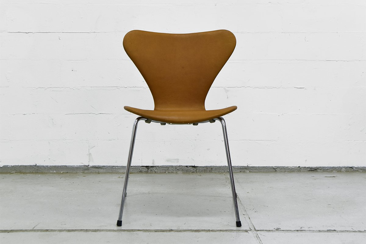 Vintage Series 7 Chairs By Arne Jacobsen For Fritz Hansen For Sale