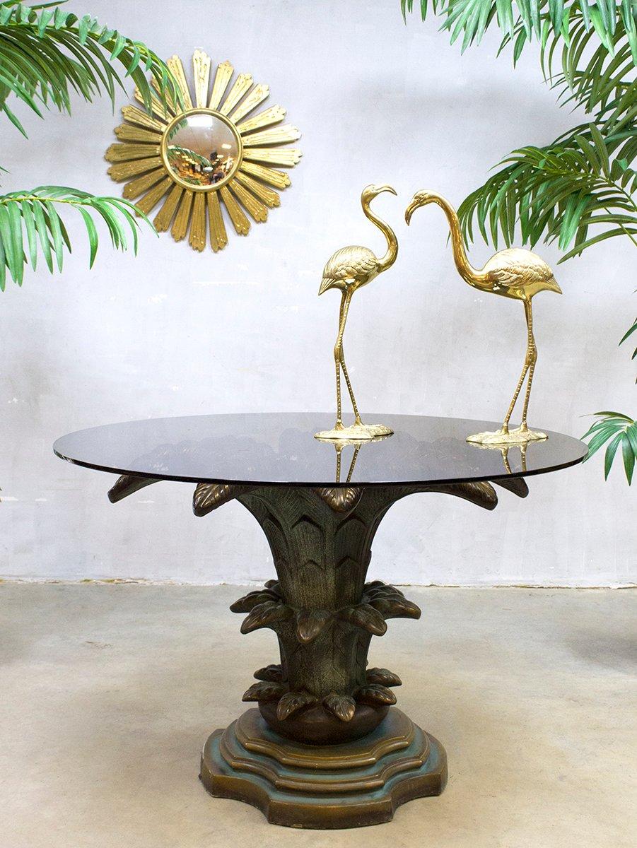 Mid-Century Palmen Tisch