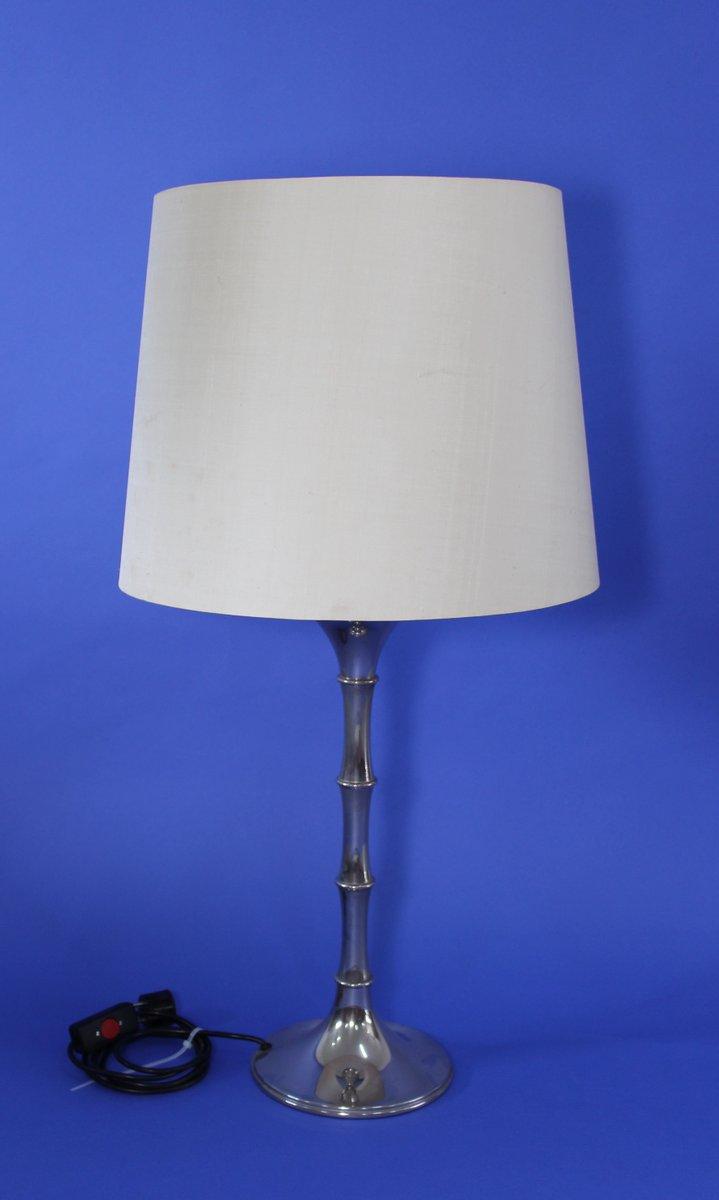 Vintage Bambus Tischlampe von Ingo Maurer für Design M