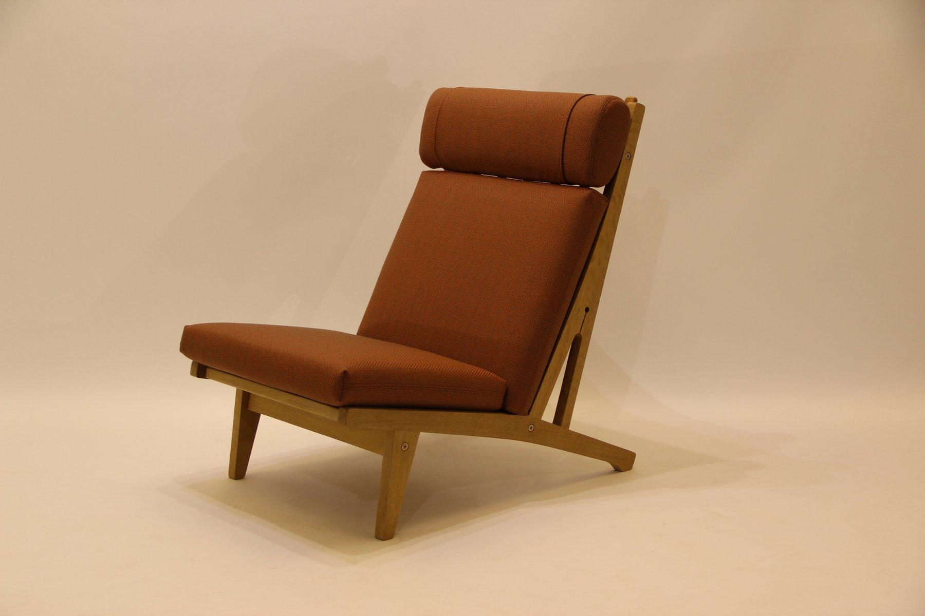 Dänischer GE375 Sessel aus Eichenholz von Hans J. Wegner für Getama, 1...