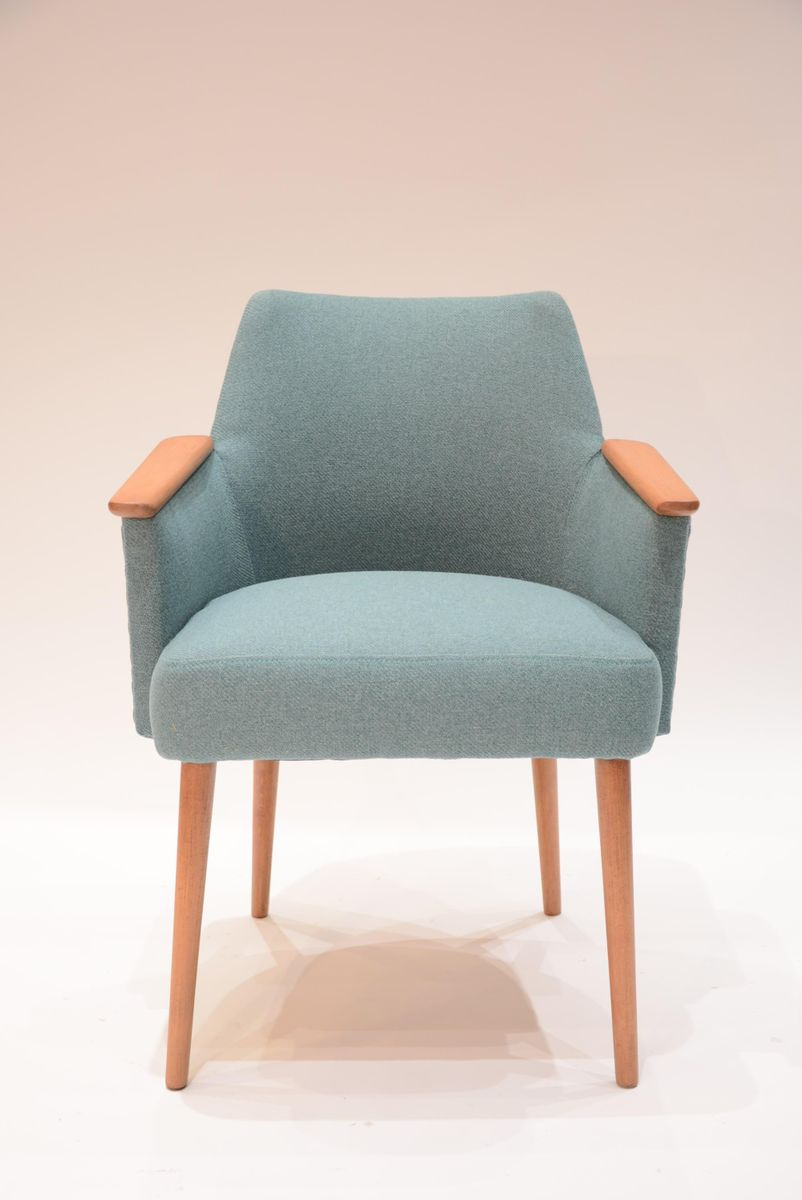 Vintage Soviet Blue u0026 Green Armchair 1960s & Vintage Soviet Blue u0026 Green Armchair 1960s for sale at Pamono