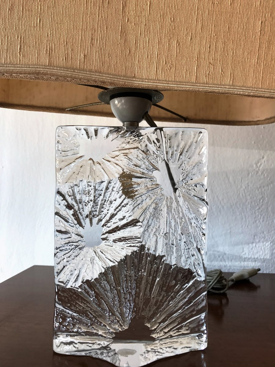 Crystal Table Lamp Form Daum France 1960s For Sale At Pamono