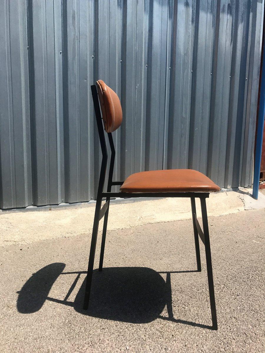 d nischer mid century modern teak tisch 4 st hle 1950er 5er set bei pamono kaufen. Black Bedroom Furniture Sets. Home Design Ideas