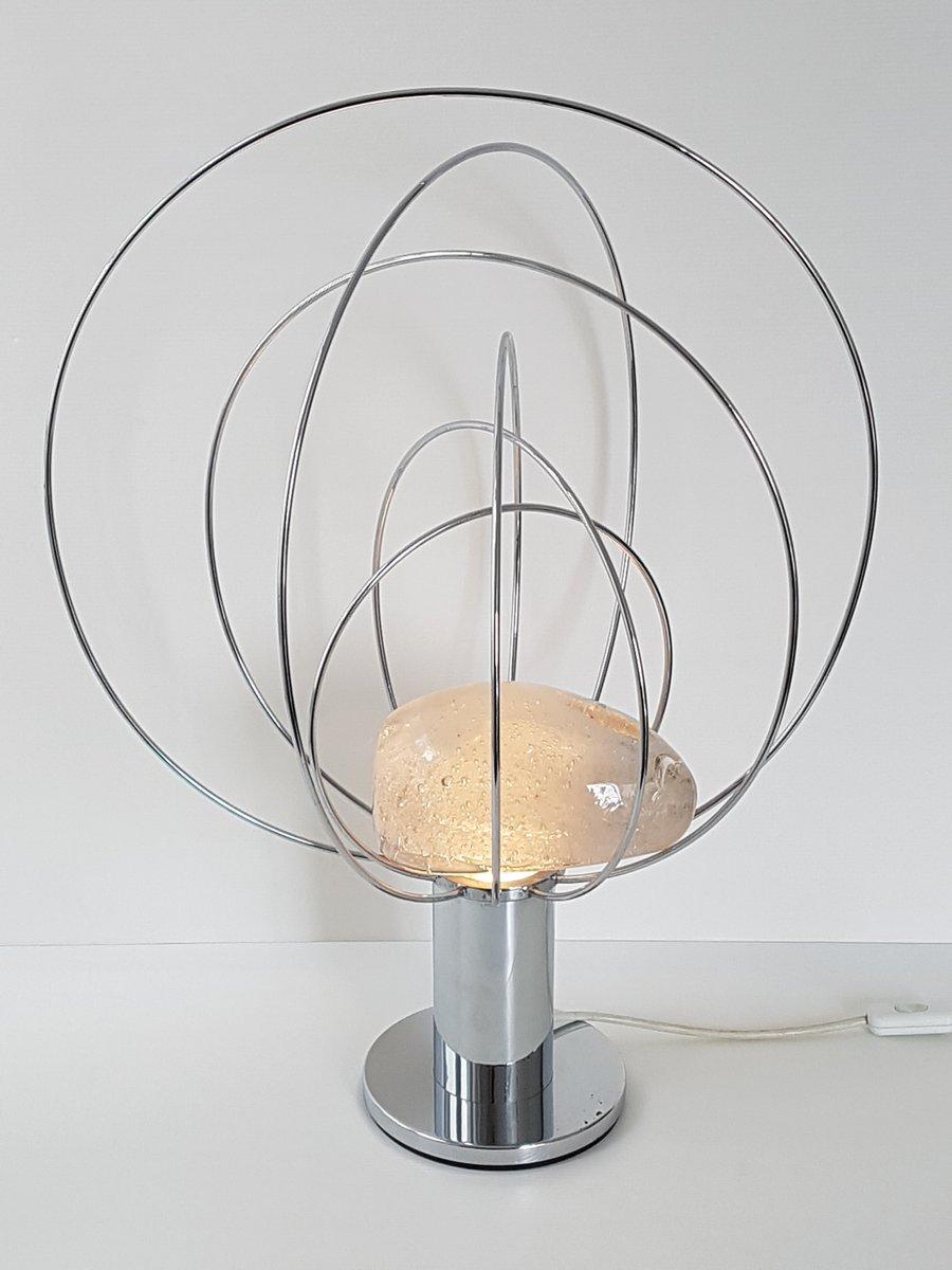 Lampada da tavolo space age vintage di angelo brotto per fase anni 39 70 in vendita su pamono - Lampada da tavolo vintage ...