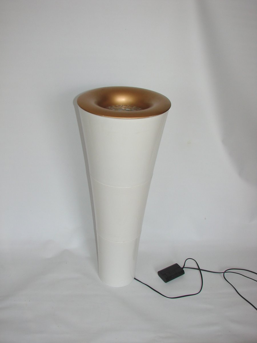 Konische Space Age Stehlampe, 1980er