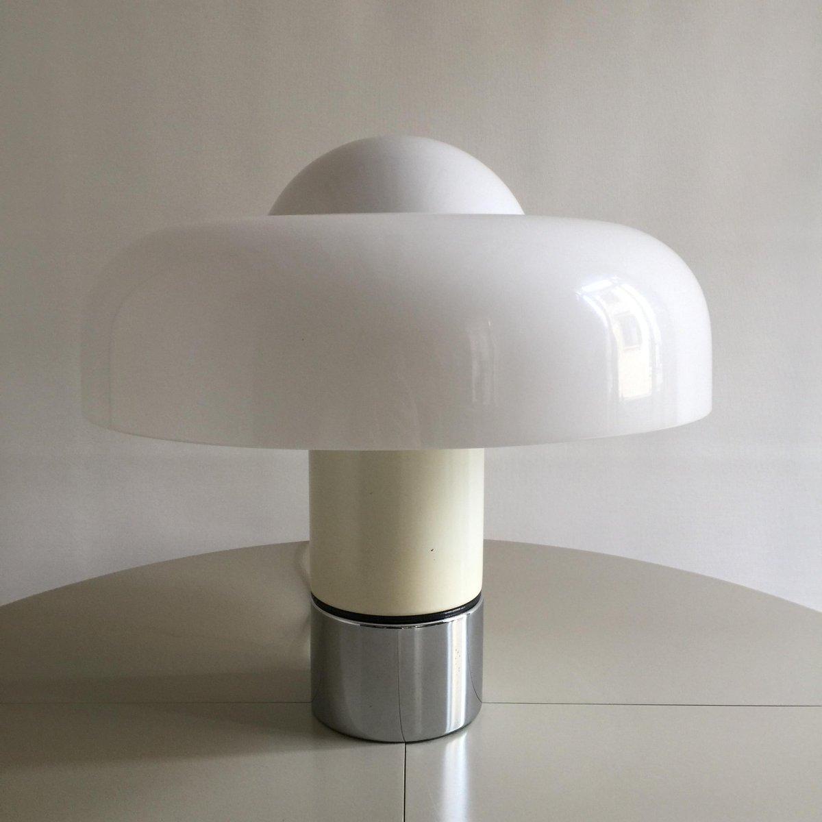 Brumbury Tischlampe von Luigi Massoni für Harvey Guzzini, 1970er