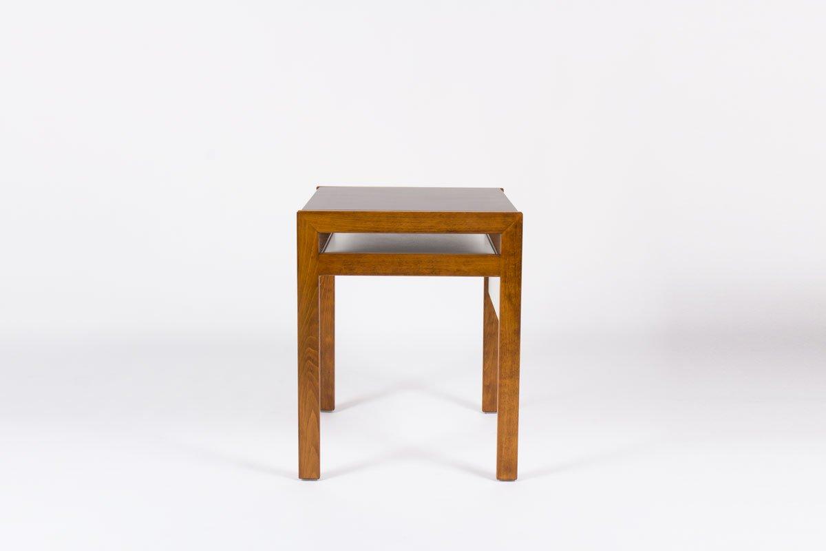 kleiner schreibtisch mit laminat in schwarz wei von andre sornay 1950s bei pamono kaufen. Black Bedroom Furniture Sets. Home Design Ideas