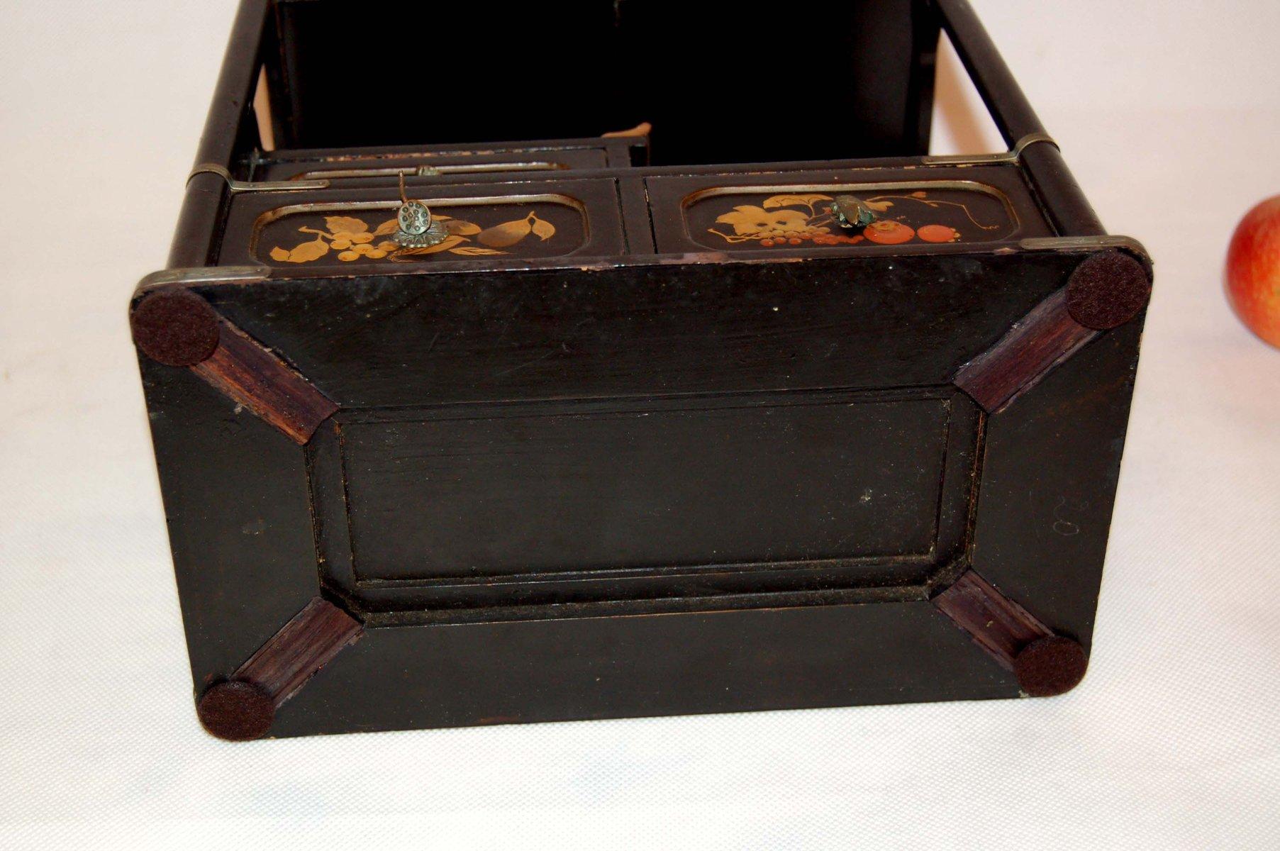 Armadio Antico Laccato : Comodino cinese mobili comodino piccolo armadio dipinto a mano