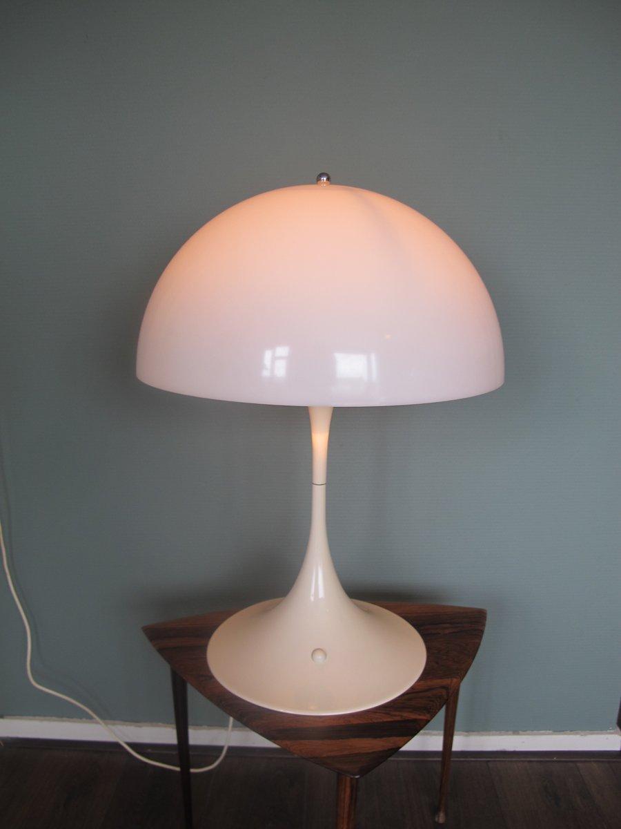 lampe de bureau abs panthella par verner panton pour louis poulsen en vente sur pamono. Black Bedroom Furniture Sets. Home Design Ideas