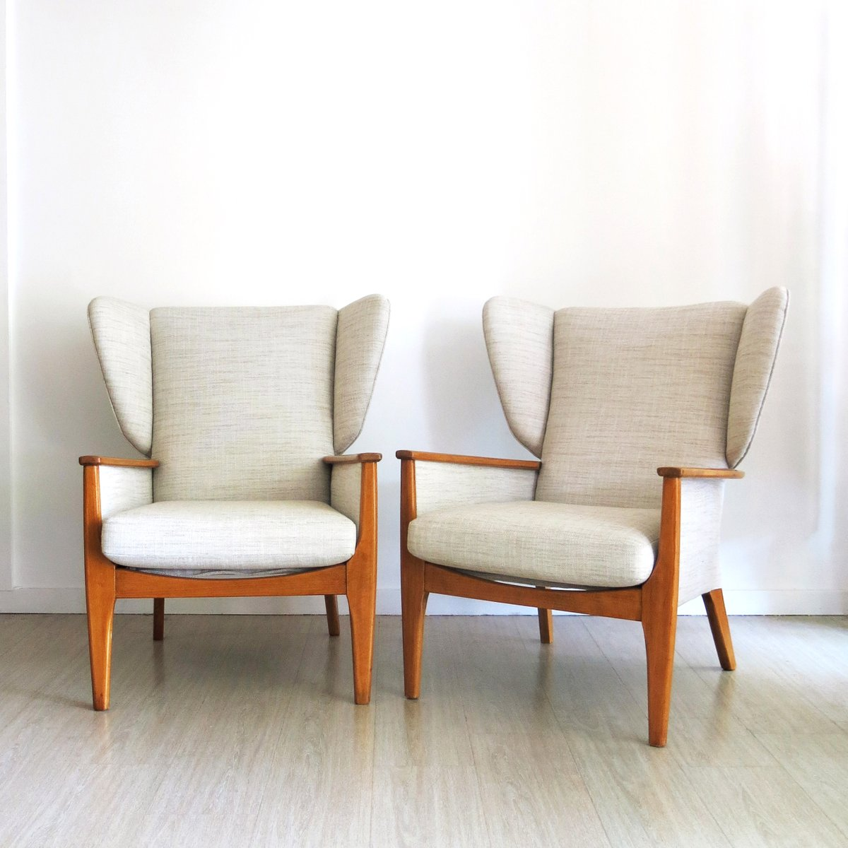 Vintage Wingback Chairs From Parker Knoll, 1960s, Set Of 2