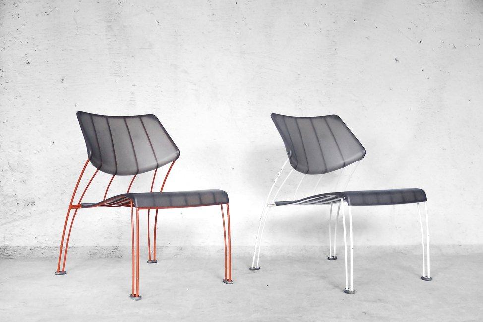 chaises vintage hasslo par monika mulder pour ikea set de 2 en vente sur pamono. Black Bedroom Furniture Sets. Home Design Ideas