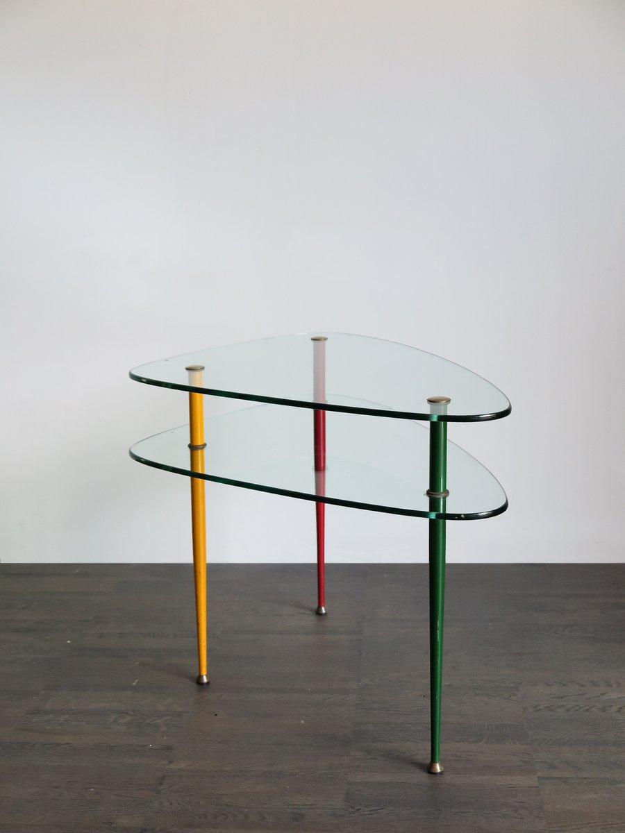 Arlecchino Tisch von Edoardo Paoli für Vitrex, 1960er