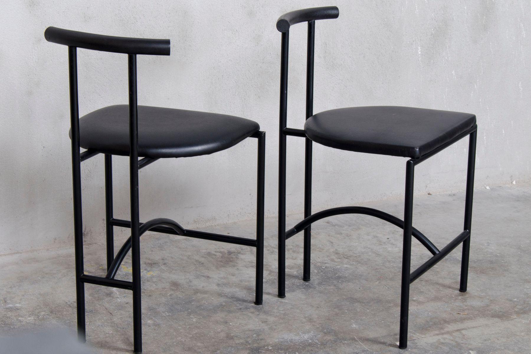tokyo st hle von rodney kinsman f r bieffeplast 1985 8er set bei pamono kaufen. Black Bedroom Furniture Sets. Home Design Ideas