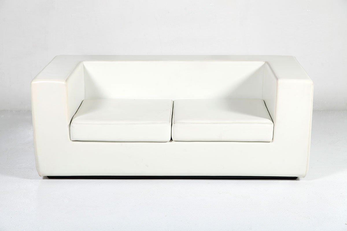throw away 2 sitzer sofa in wei von willie landels f r zanotta 1965 bei pamono kaufen. Black Bedroom Furniture Sets. Home Design Ideas