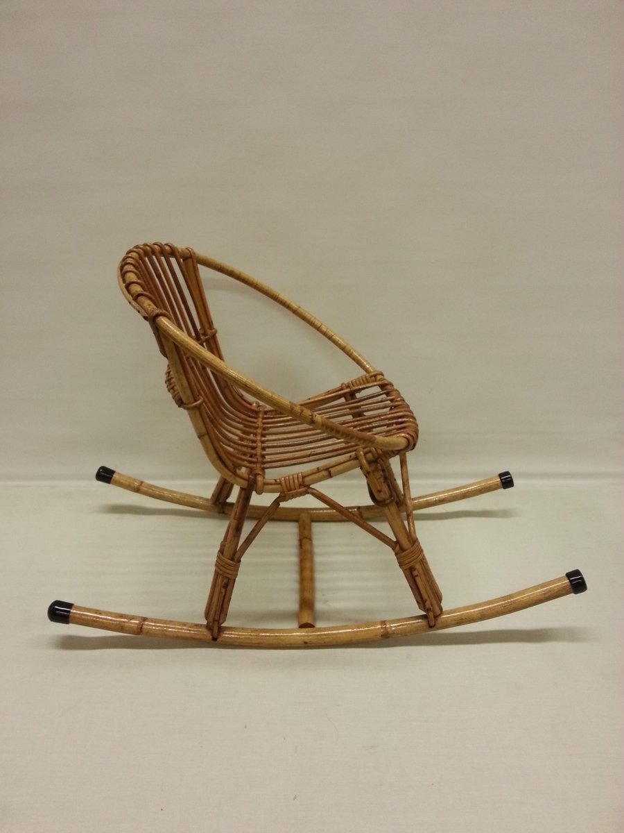 Childrenu0027s Rattan Rocking Chair, 1960s 5. Price: $502.00 Regular Price:  $538.00