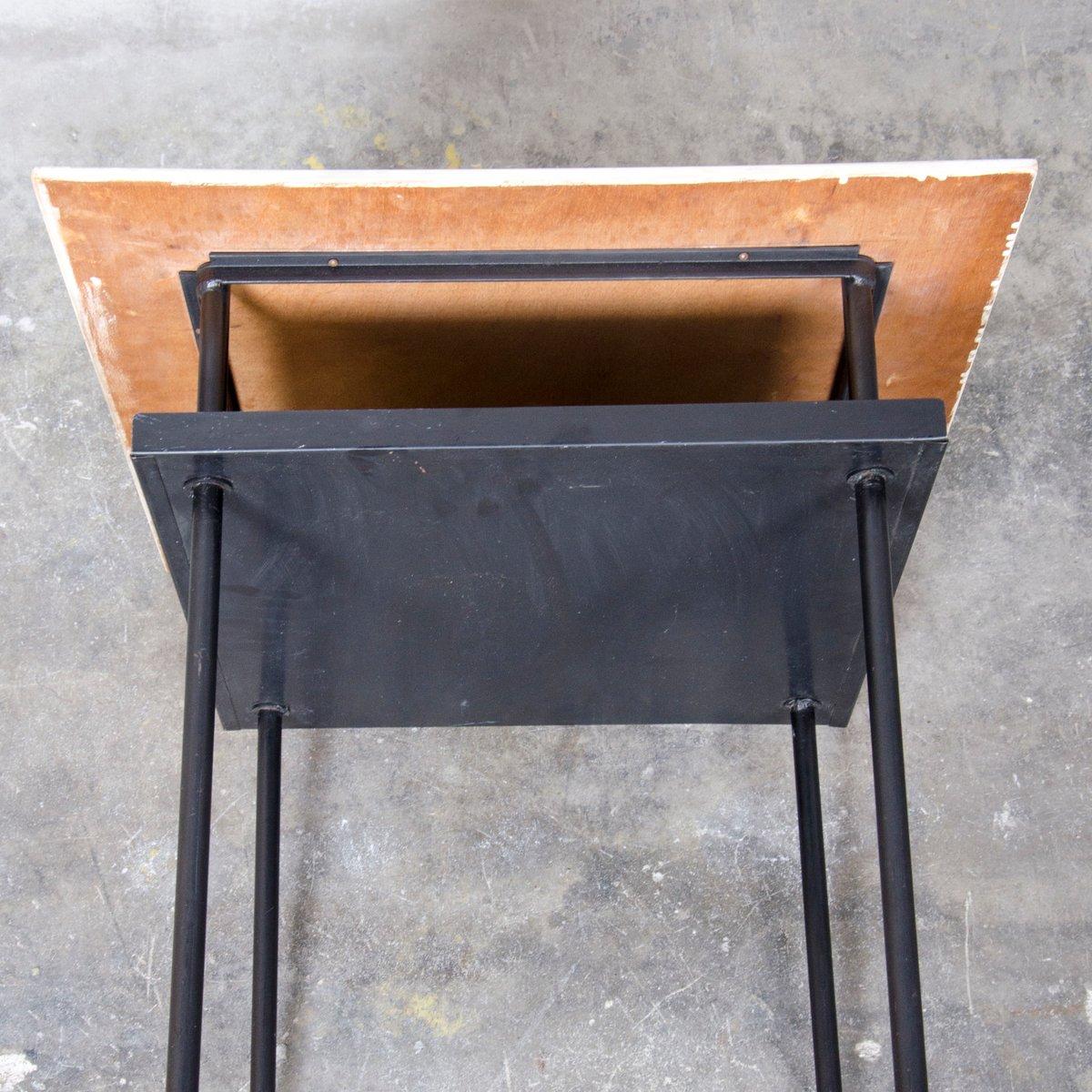 beistelltisch von wim rietveld f r auping 1950er bei pamono kaufen. Black Bedroom Furniture Sets. Home Design Ideas