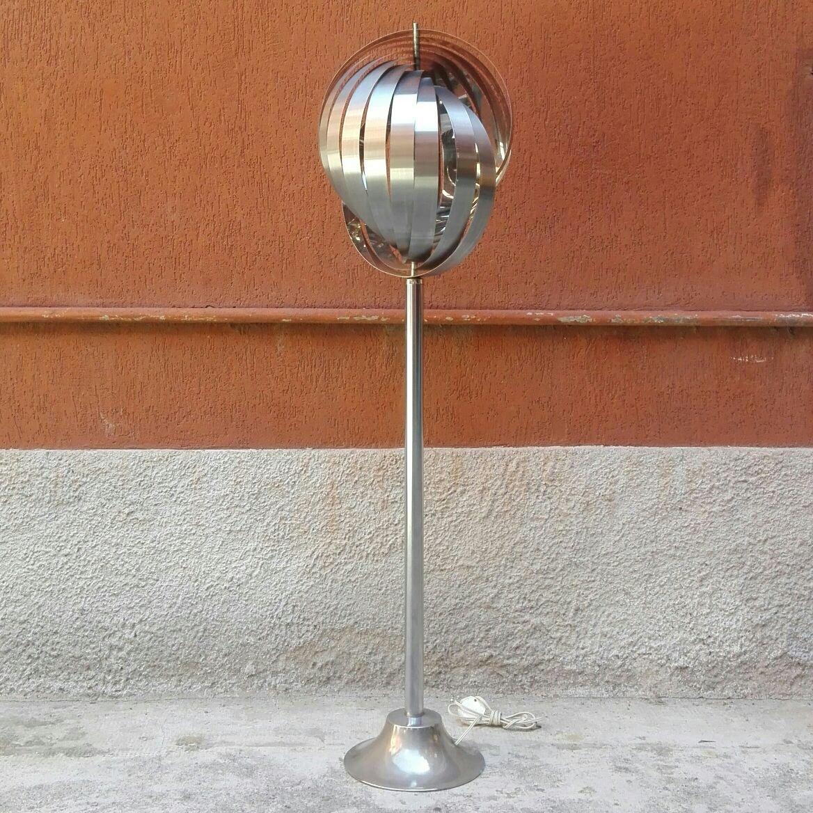 Französische Mid-Century Stehlampe von Henri Mathieu, 1963