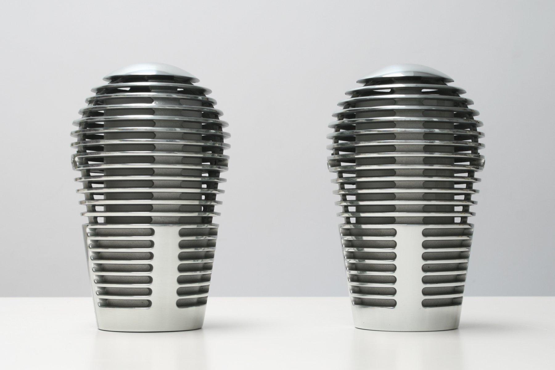 Zen Tischlampen von Devesa für Metalarte, 1980er, 2er Set