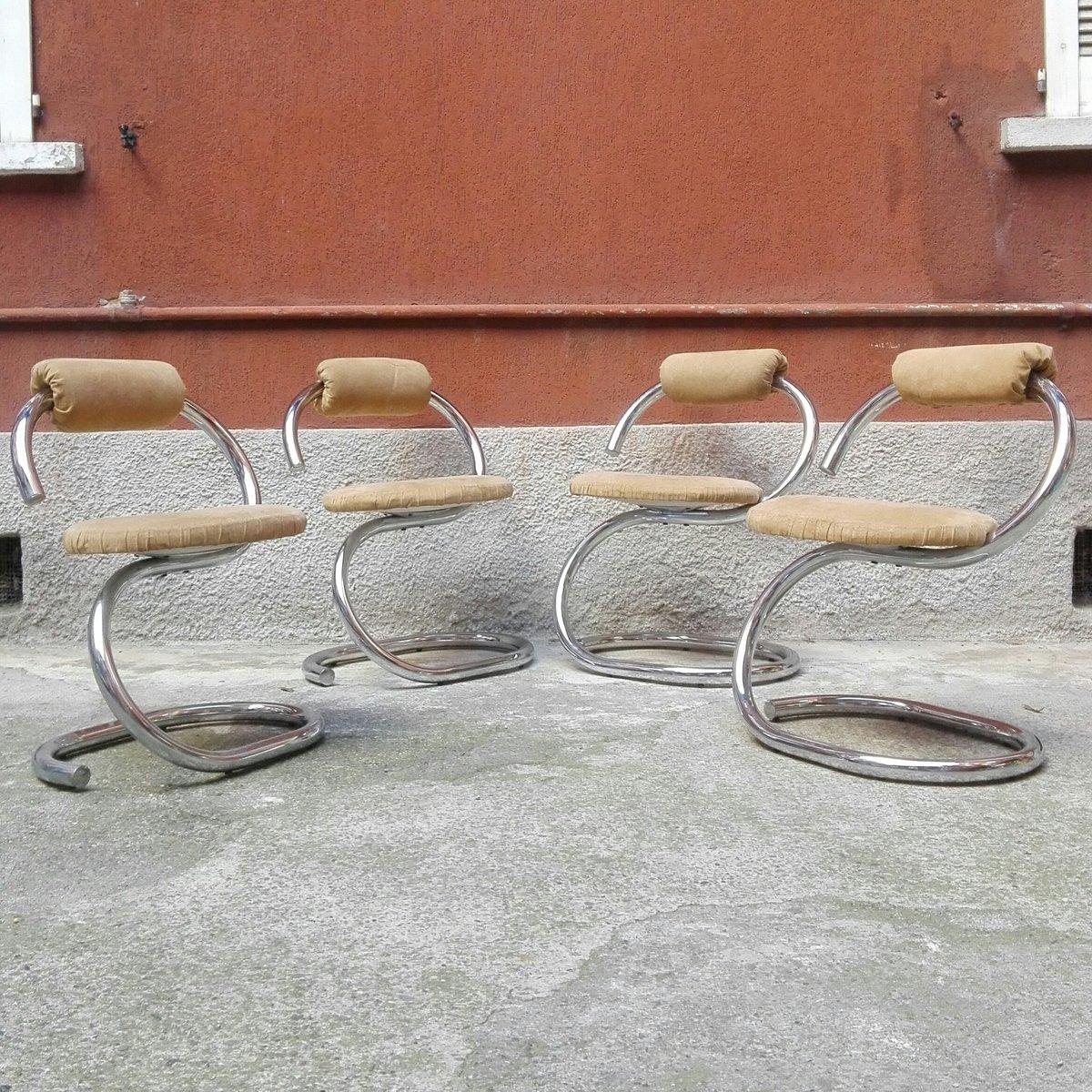 Sedie da pranzo scultoree di giotto stoppino italia set for Sedie da pranzo
