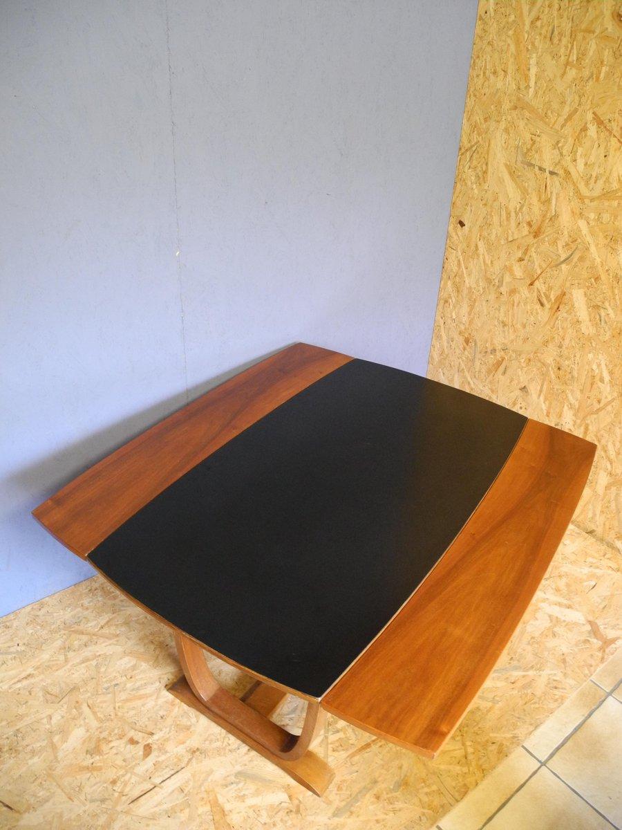 table basse art d co extensible en vente sur pamono. Black Bedroom Furniture Sets. Home Design Ideas