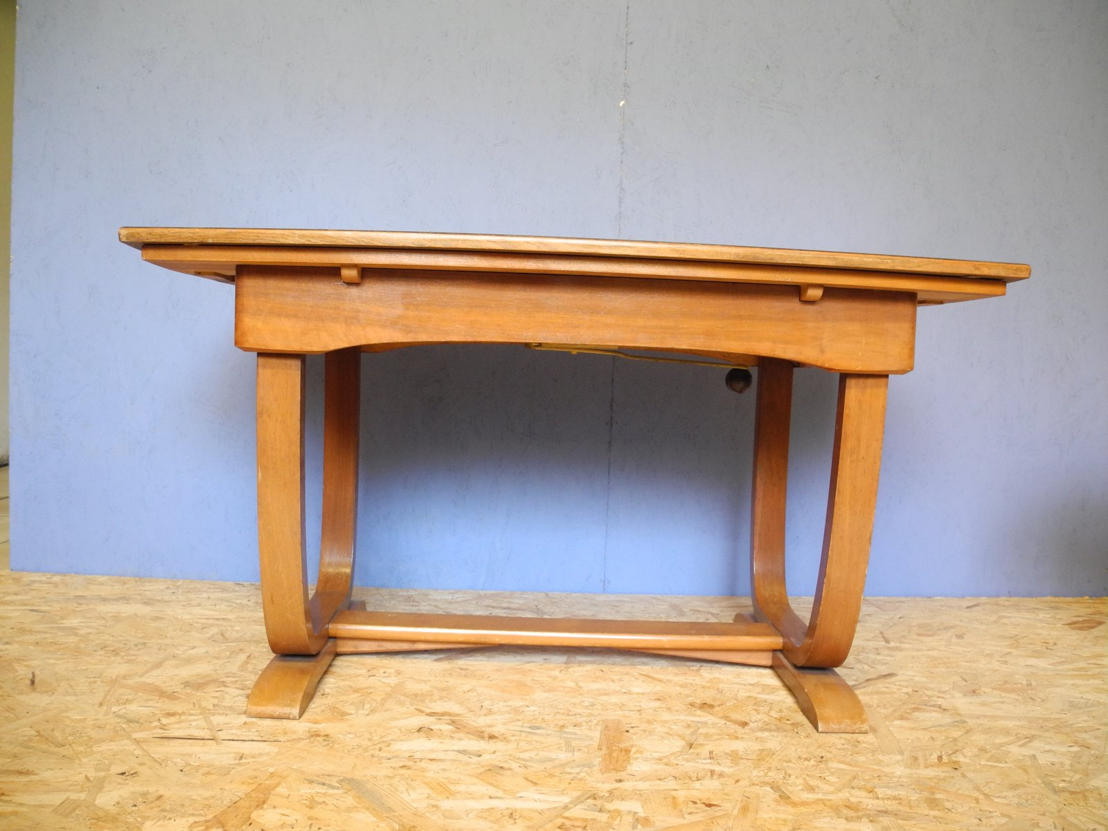 art deco extendable coffee table for sale at pamono. Black Bedroom Furniture Sets. Home Design Ideas