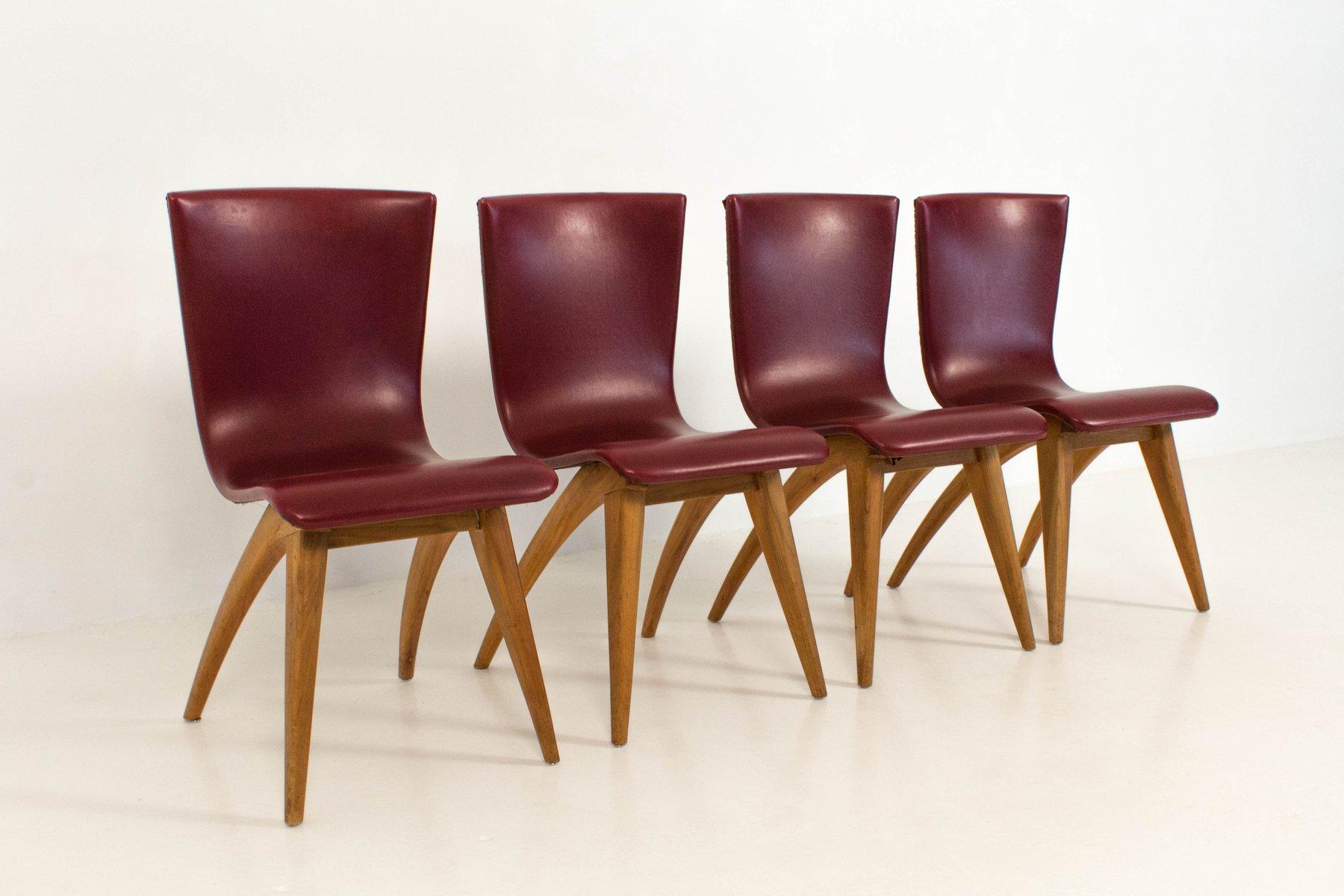 swing st hle von g j van os culemborg 1950er 4er set bei pamono kaufen. Black Bedroom Furniture Sets. Home Design Ideas