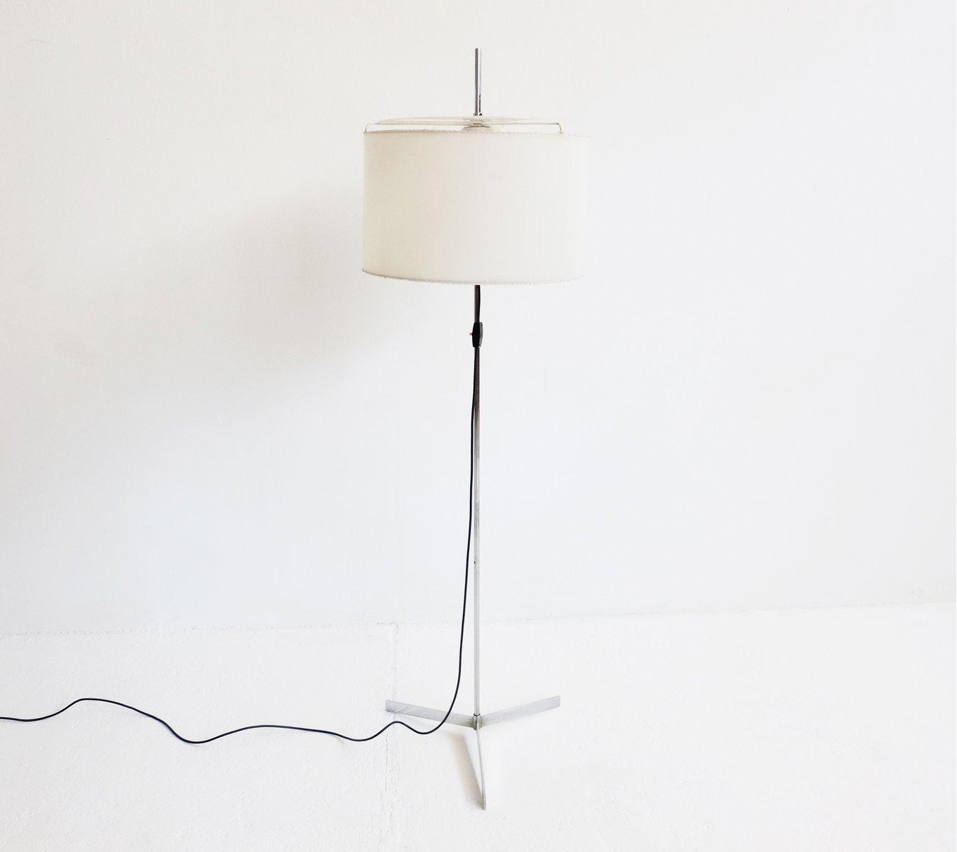 Verstellbare Schweizer Stehlampe, 1960er