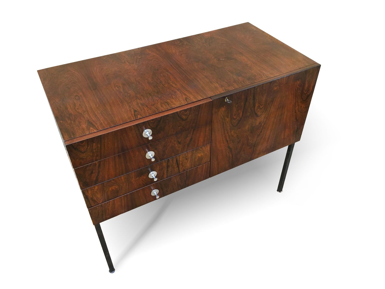 vintage sideboard 800 von alain richard f r meubles tv bei pamono kaufen. Black Bedroom Furniture Sets. Home Design Ideas