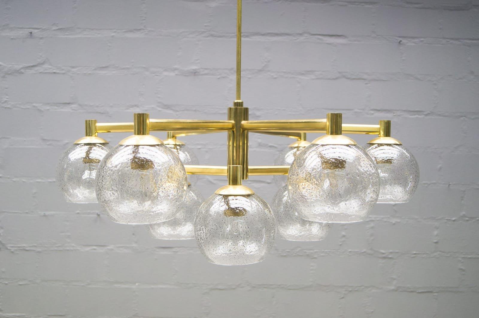 Lampadario Con Sfere Di Cristallo.Lampadari Sfera Di Vetro Lampade A Sospensione In Vetro Soffiato