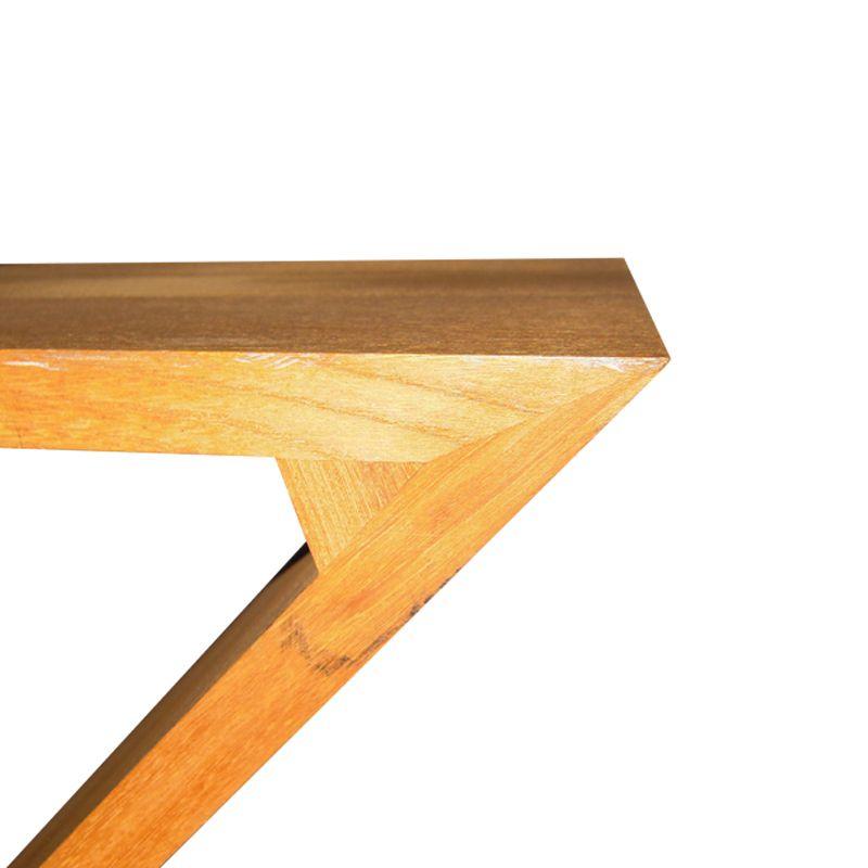 Sedia zig zag in legno di olmo di gerrit rietveld per for Design stuhl zig zag