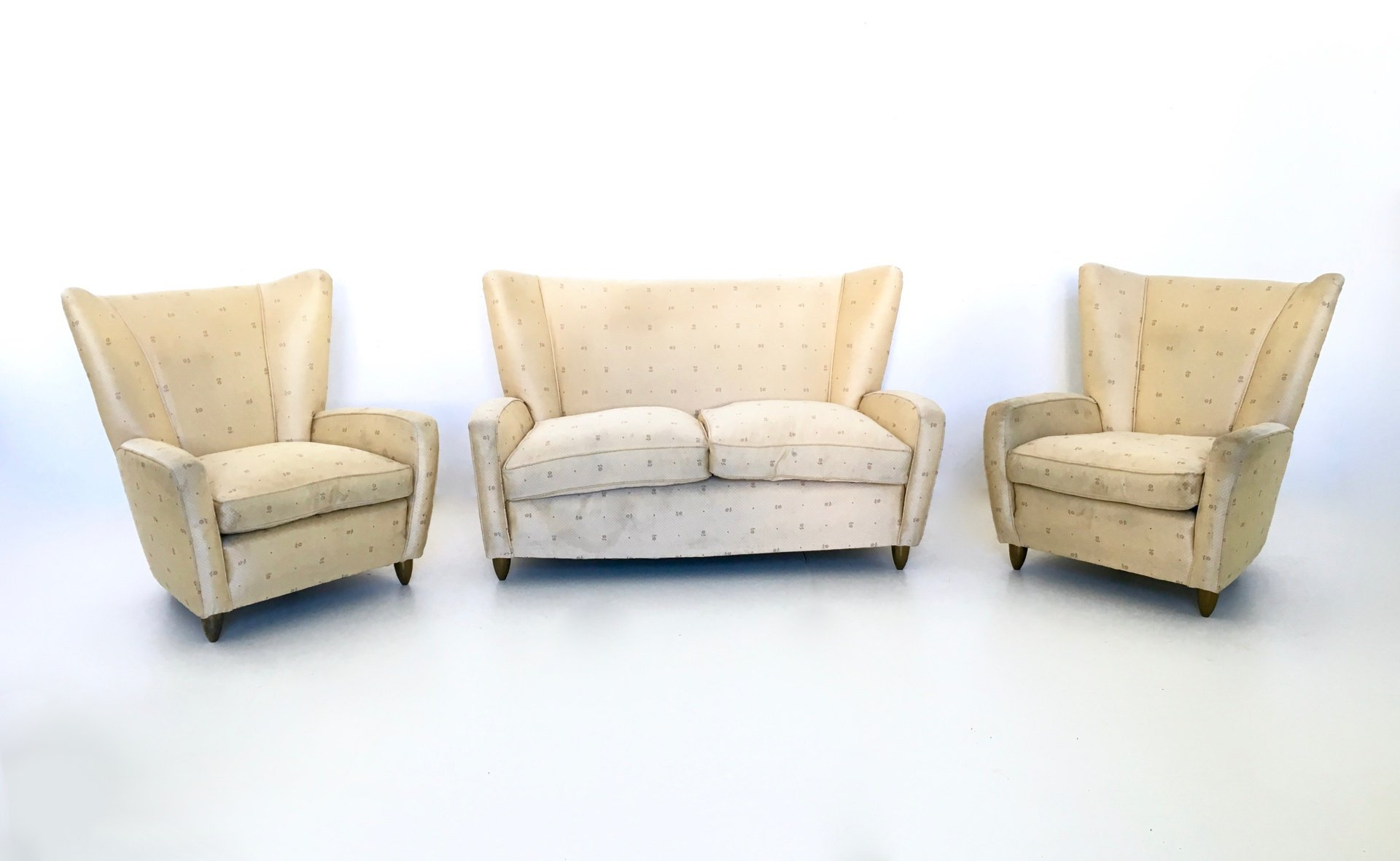 Italian Living Room Set by Paolo Buffa, 1950s for sale at Pamono