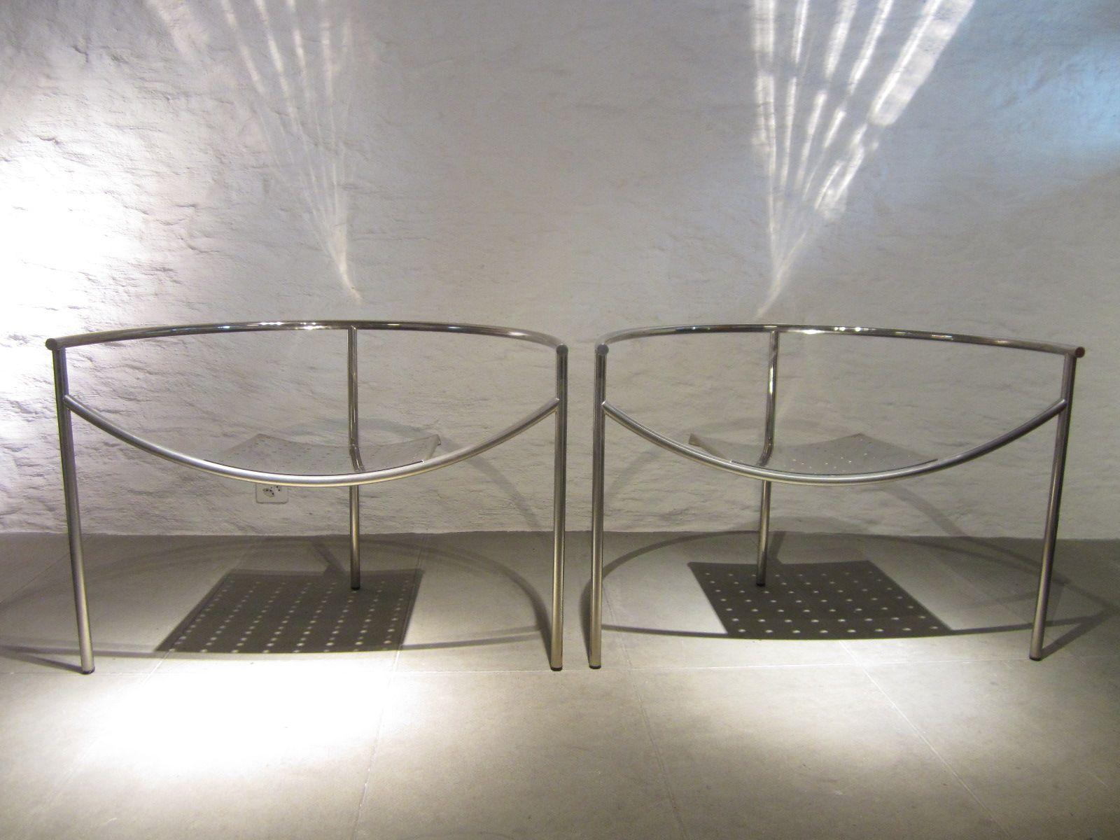 Vintage Dr. Sonderbar Sessel von Philippe Starck für XO, 2er Set