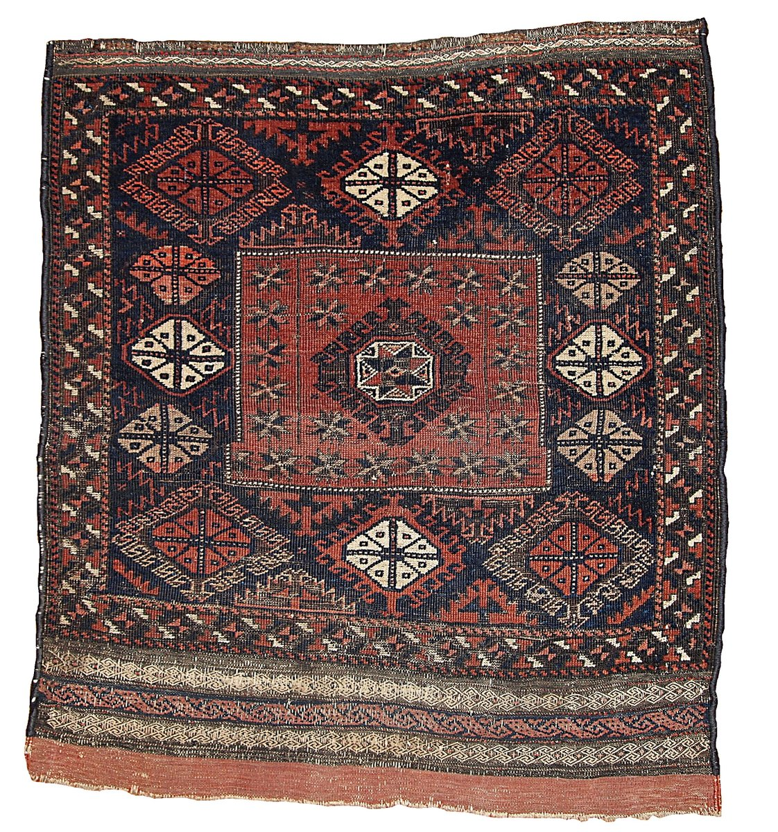 Antique Afghan Rugs: Antique Afghan Baluch Handmade Rug, 1880s For Sale At Pamono